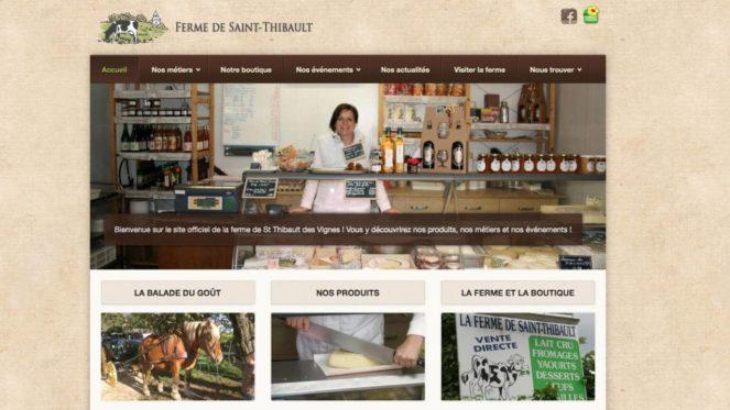 Nouvelle réalisation: Site de la Ferme de Saint-Thibault