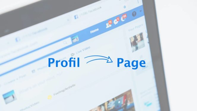 La migration d'un profil à une page entreprise sur Facebook n'est pas si simple